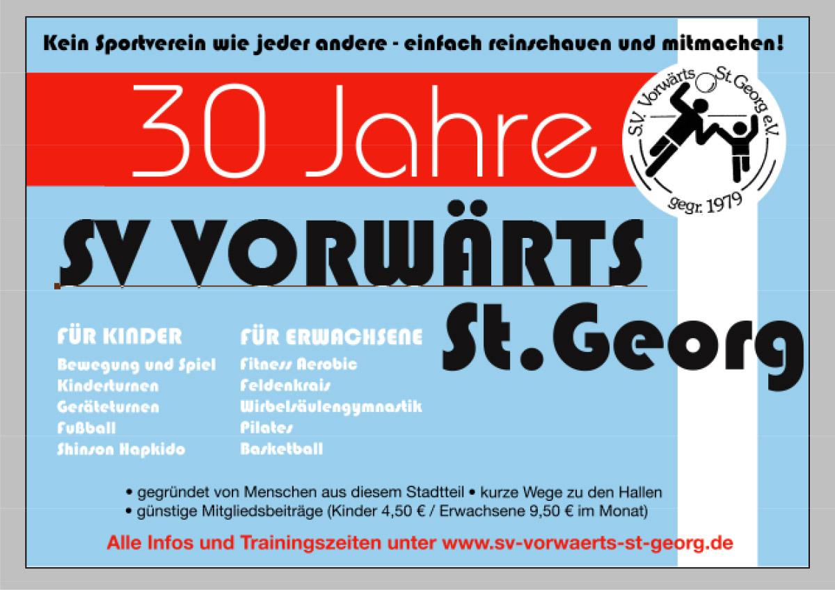 30 Jahre Vorwärts St. Georg